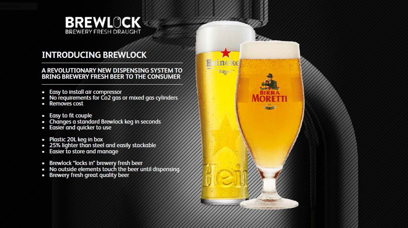 Heineken UK Brewlock