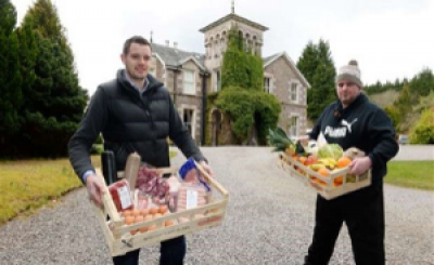 Inverness hotel becomes food hub with over 3000 collections and deliveries